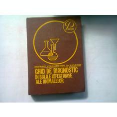 Ghid de diagnostic in bolile infectioase la animale - Martin Pop , 1981