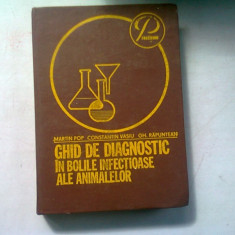 Ghid de diagnostic in bolile infectioase la animale - Martin Pop , 1981