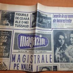 magazin 1 iulie 1967-orasul medias la 700 ani,locurile de agremen in bucuresti