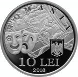 Moneda Argint 100 de Ani de la nasterea lui Radu Beligan