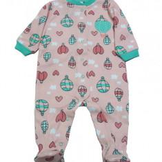 Salopeta / Pijama bebe cu desene Z47, 1-2 ani, 1-3 luni, 12-18 luni, 3-6 luni, 6-9 luni, 9-12 luni, Multicolor