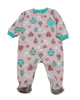 Salopeta / Pijama bebe cu desene Z47 foto