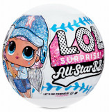 Papusa L.O.L. SURPRISE! All Star B.B.s, Baseball, 8 Surprize
