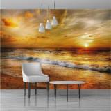 Fototapet plaja 390 x 259 cm - Tapet premium cu adeziv