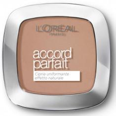 Pudra compacta Loreal Accord Parfait 7D/7W Golden Amber