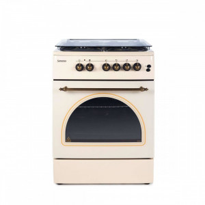 Aragaz Serreno Cooking SER 6604RB/FE1 Gaz 4 arzatoare Bej