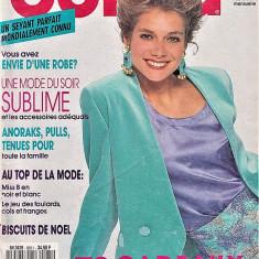 Burda revista de moda   tipare  si broderii 11/1990 (croitorie)