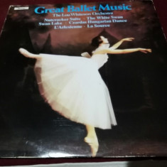 DISC VINIL VINIL GREAT BALLET MUSIC THE LOU WHITESON ORCHESTRA