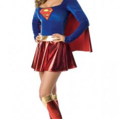 U215 Costum tematic, model Superwoman, M