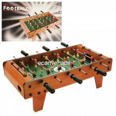 Joc Fotbal de masa cu Toate Accesoriile Football Tabletop 69x37x23.5cm