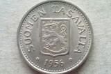 MONEDA 100 MARKKAA 1956-FINLANDA (ARGINT), Europa