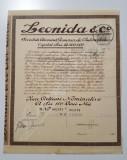 Actiune 1927 Leonida & Co , titlu 10 actiuni tema auto