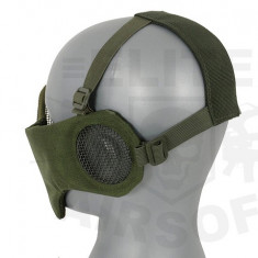 Masca Half Face Mesh V3 - Olive [CS]