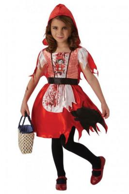 Costum de carnaval - Scufita Rosie infricosatoare PlayLearn Toys foto