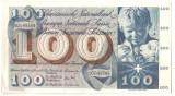 SV * Elvetia  100  FRANKEN / CENT FRANCS / CENTO FRANCHI  1961 - 1965     - AUNC
