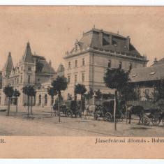Timisoara - Gara 1904, Circulata, Printata