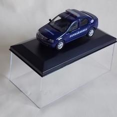 Macheta Dacia Logan ,,JANDARMERIA'',handmade,sc.1:43!