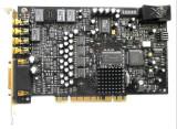 Creative Sound Blaster X-Fi Elite Pro , MUFE AURITE , ILUMINARE IN ALBASTRU !