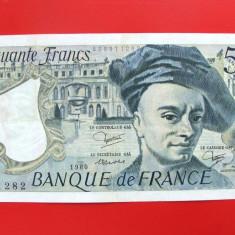 FRANTA  -  50 Francs 1980