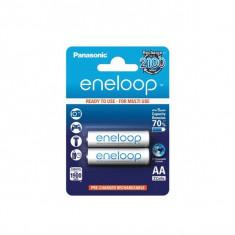 Acumulatori Panasonic Eneloop R6 AA 1900mAh set 2 buc