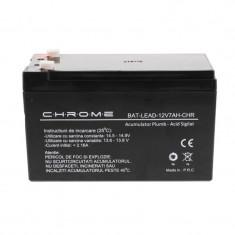 Acumulator plumb acid Chrome, 12 V, 7 Ah, Sub 40