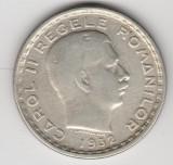 * Moneda 100 lei 1932, Argint