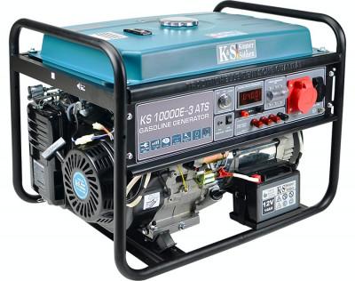 Generator trifazat cu automatizare, benzina, 8 kW, KS10000E-3 ATS Könner&Söhnen foto