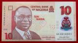 Nigeria 10 Naira 2020 polimer UNC necirculata **