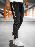 Pantaloni de trening negri Bolf JX9502