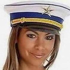 PAL7 Palarie tematica capitan marinar