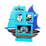 Cumpara ieftin Ceas De Masa Copii Cu Rama Foto SAILING SHIP WZ2187
