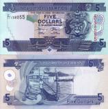 INSULELE SOLOMON 5 dollars ND 2008 UNC!!!