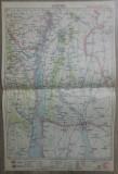 Cahul// harta lito 1928, M. D. Moldoveanu