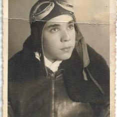 Fotografie pilot militar roman al doilea razboi mondial aviatie