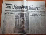Ziarul romania libera 18 martie 1990-interviul televizat al lui ion iliescu