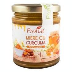 Miere cu Curcuma 220gr Pronat Cod: PRN6361