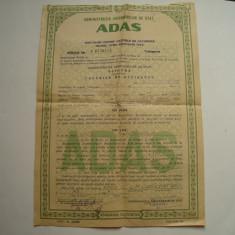 Polita Asigurare ADAS RPR