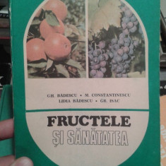 FRUCTELE SI SANATATEA-GH.BADESCU