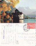 Ilustrata Elvetia-Lacul Leman
