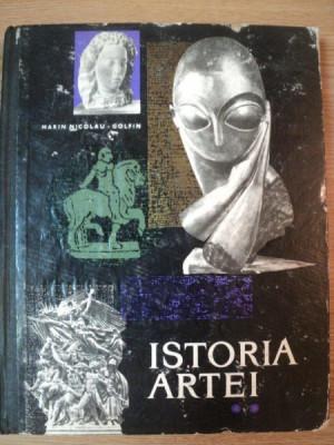ISTORIA ARTEI VOL II de MARIN NICOLAU - GOLFIN , 1967 foto