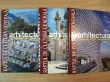 ARHITECTURA EVOLUTIE , STILURI , PERSONALITATI VOL. I - III