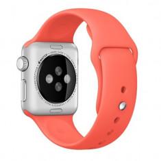 Curea pentru Apple Watch 42 mm Silicon iUni Red