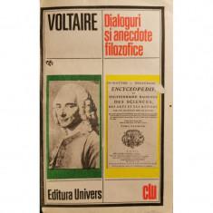 Dialoguri si anecdote filozofice - Voltaire