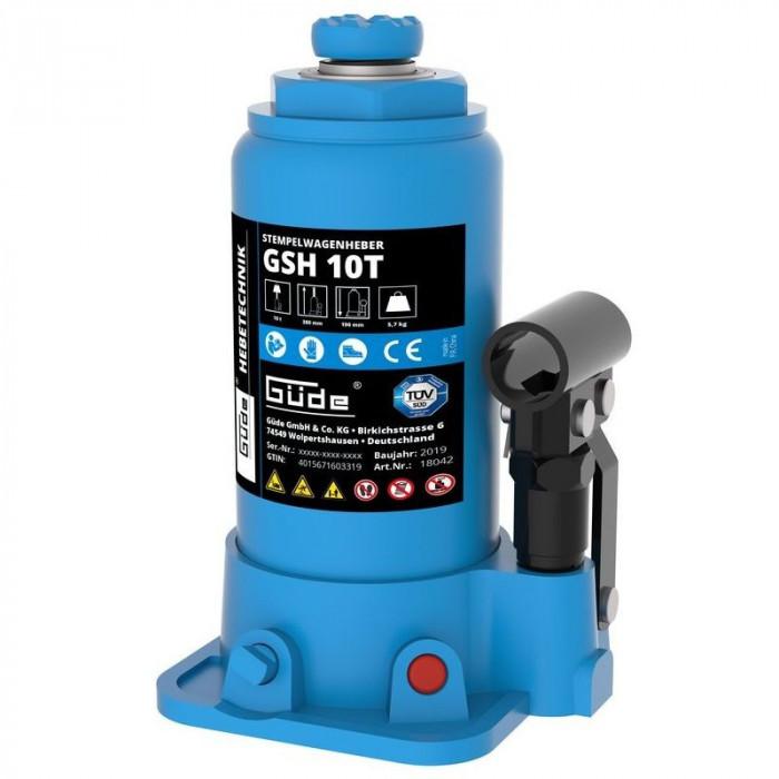 Cric hidraulic GSH 10T Guede GUDE18042, 10 Tone