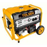 Generator benzina Tolsen, 5500 W, 420 CC, 27 l, motor 4 timpi