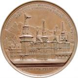 Cumpara ieftin ROMANIA - MEDALIE CAROL I SI REGINA ELISABETA - CASTELUL PELES 1883. DE COLECTIE