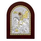 Cumpara ieftin Sfantul Dumitru 15x21cm Icoana Argint COD: 2913