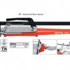Aparat de taiat gresie lungime 630mm, YATO, YT-3703