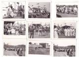 DACII -LOT DE 17 FOTOGRAFII DE LA TURNAREA FILMULUI DACII-1966, Romania de la 1950