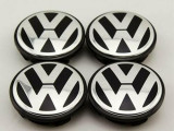 Capace jante aliaj Volkswagen / 65 mm / Set 4 Buc /Cod 3B7601171 Originale **NOU